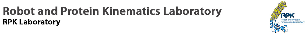 Robot and Protein Kinematics Laboratory